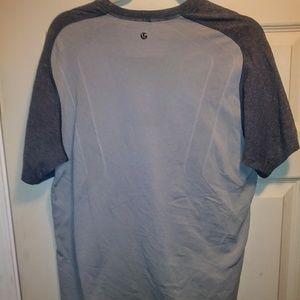 "Flawless LULULEMON two-tone ""metal vent"" shirt"